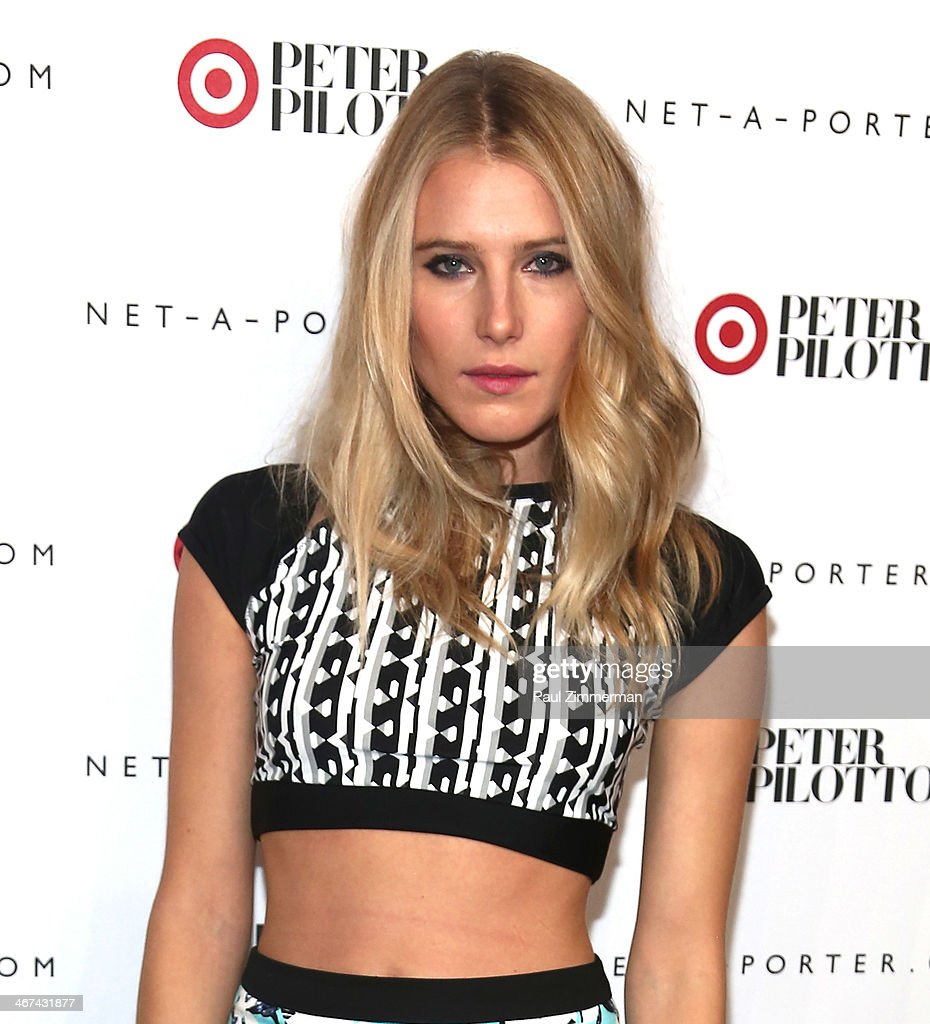 Model <a gi-track='captionPersonalityLinkClicked' href=/galleries/search?phrase=Dree+Hemingway&family=editorial&specificpeople=5650645 ng-click='$event.stopPropagation()'>Dree Hemingway</a> attends Peter Pilotto For Target Launch at Gotham Hall on February 6, 2014 in New York City.