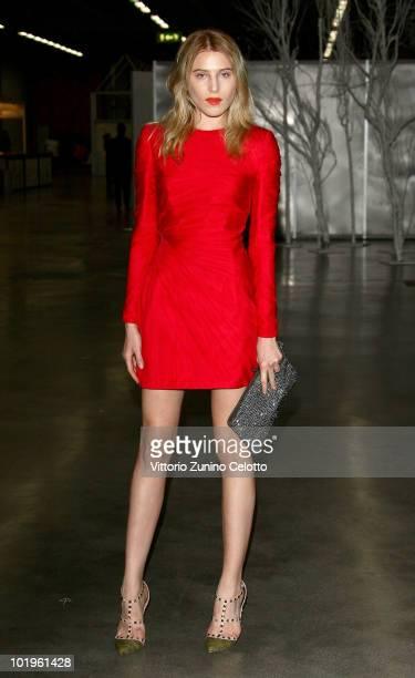 Model Dree Hemingway attends the 2010 Convivio held at Fiera Milano City on June 10 2010 in Milan Italy