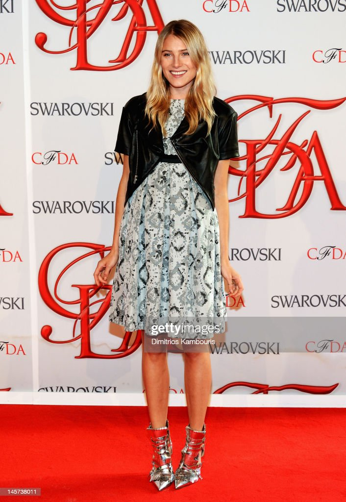 Model Dree Hemingway attends the 2012 CFDA Fashion Awards at Alice Tully Hall on June 4, 2012 in New York City.