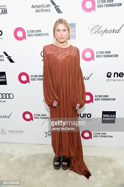 Model Dree Hemingway attends the 23rd Annual Elton John AIDS Foundation Academy Awards Viewing Party on February 22 2015 in Los Angeles California