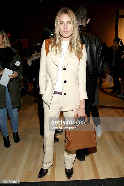 Model Dree Hemingway attends the Coach Fall 2016 Runway Show on February 16 2016 in New York City