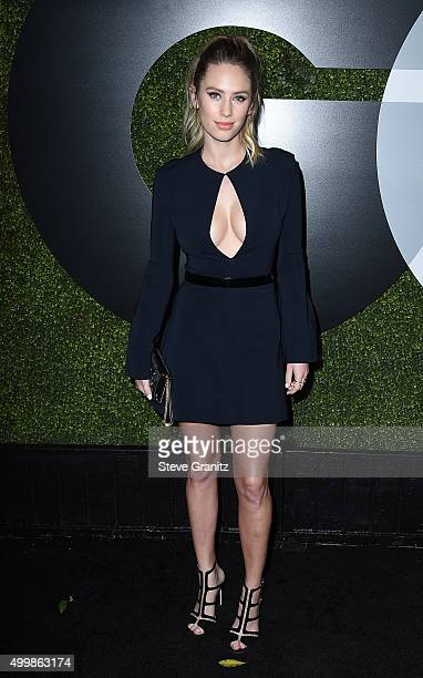 Model Dylan Penn attends the GQ 20th Anniversary Men Of The Year Party at Chateau Marmont on December 3 2015 in Los Angeles California