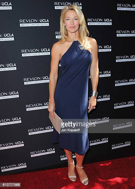 Model Elaine Irwin arrives at Revlon's Annual Philanthropic Luncheon at Chateau Marmont on September 27 2016 in Los Angeles California