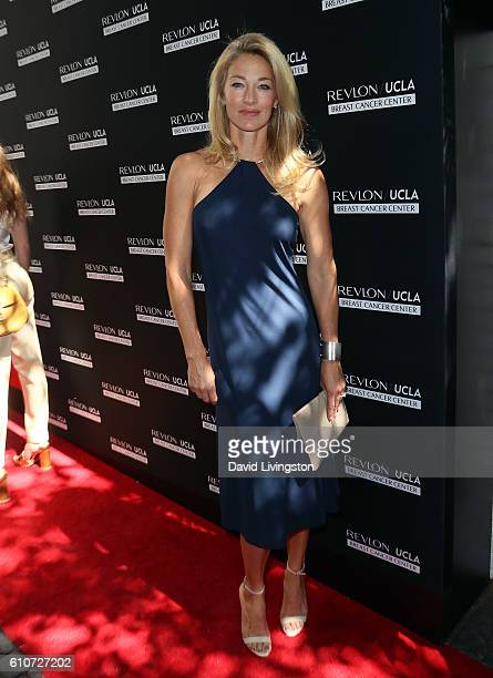 Model Elaine Irwin attends Revlon's Annual Philanthropic Luncheon at Chateau Marmont on September 27 2016 in Los Angeles California