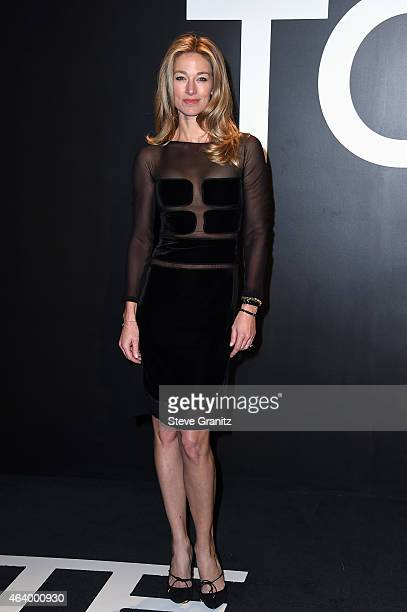 Model Elaine Irwin attends the TOM FORD Autumn/Winter 2015 Womenswear Collection Presentation at Milk Studios in Los Angeles on February 20 2015