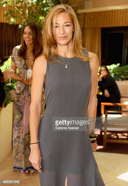 Model Elaine Irwin attends Vogue Lunch In Celebration Of The Etro Spring Collection Hosted By Sally Singer at Sunset Tower Hotel on April 3 2014 in...