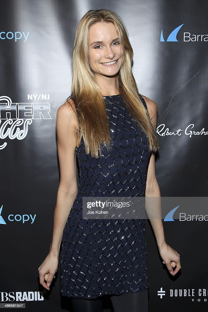Model Elena Foley attends the 11th Annual 'Leather & Laces' Party at The Liberty Theatre on February 1, 2014 in New York City.