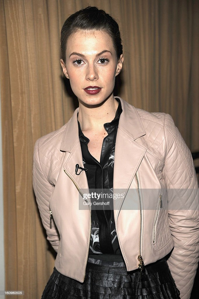 Model Elettra Wiedemann attends Jason Wu during Fall 2013 Mercedes-Benz Fashion Week on February 8, 2013 in New York City.
