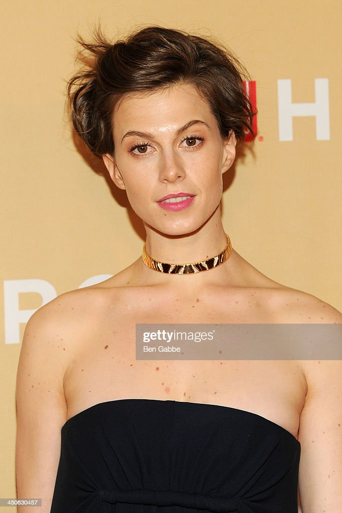 Model Elettra Wiedemann attends the 2013 CNN Heroes at the American Museum of Natural History on November 19, 2013 in New York City.