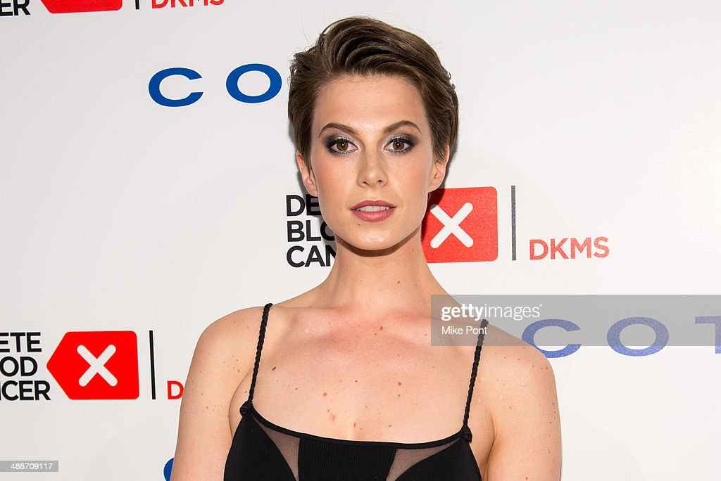 Model Elettra Wiedemann attends the 2014 Delete Blood Cancer Gala at Cipriani Wall Street on May 7, 2014 in New York City.