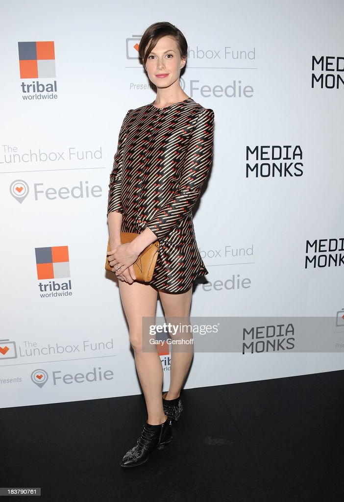 Model Elettra Wiedemann attends the Lunchbox Fund Fall Fete 2013 at Buddakan on October 9, 2013 in New York City.