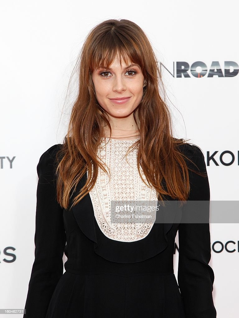 Model Elettra Wiedemann attends the Open Road, The Cinema Society & Michael Kors premiere of 'Side Effects' at AMC Loews Lincoln Square on January 31, 2013 in New York City.