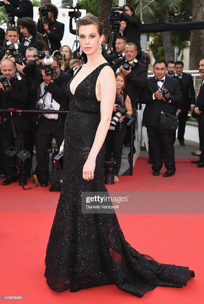 Model Elettra Wiedemann attends the 'Sicario' Premiere during the 68th annual Cannes Film Festival on May 19 2015 in Cannes France