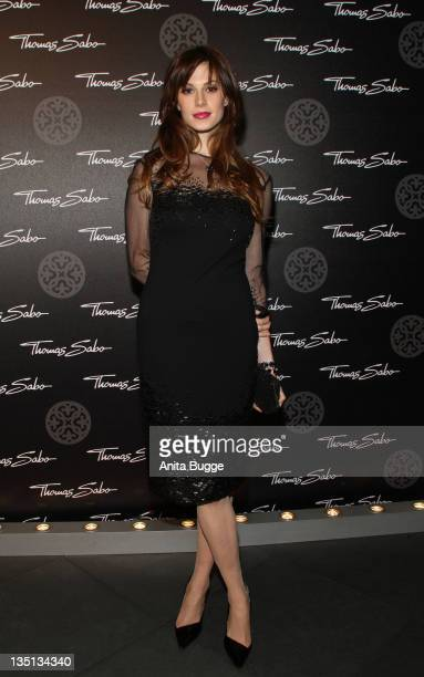 Model Elettra Wiedemann attends the Thomas Sabo Launch Party at Goya on December 6 2011 in Berlin Germany