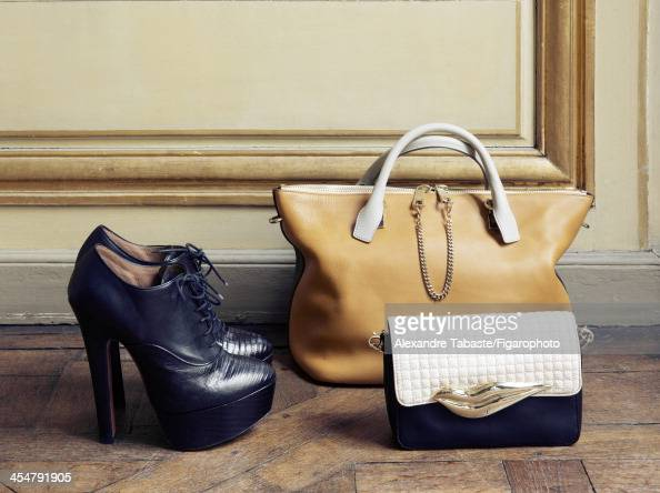 108010004 Model Elettra WiedemannRossellini's style inspirations are photographed for Madame Figaro on September 29 2013 in Paris France Shoes bag...