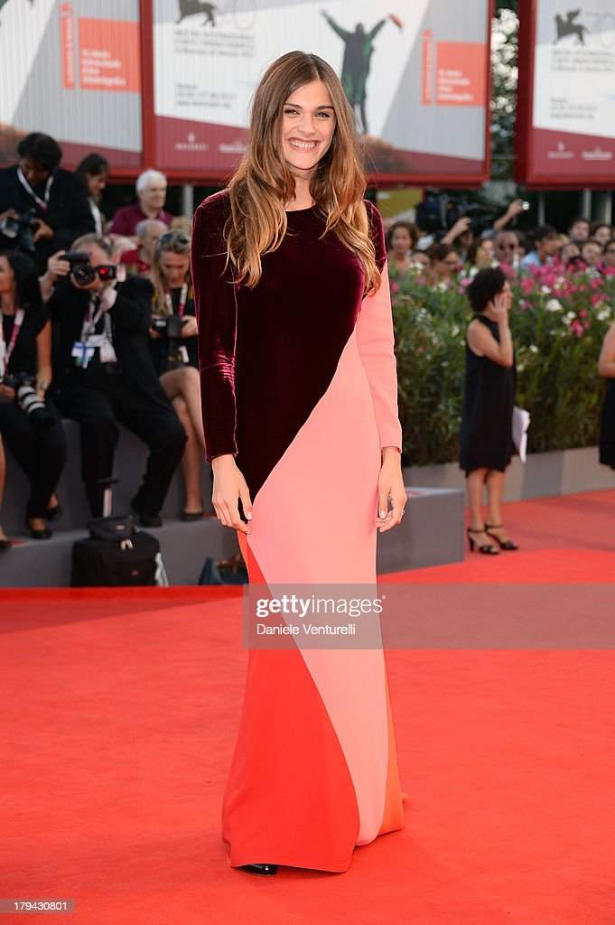 Model Elisa Sednaoui attends 'Under The Skin' Premiere during the 70th Venice International Film Festival at Sala Grande on September 3, 2013 in Venice, Italy.