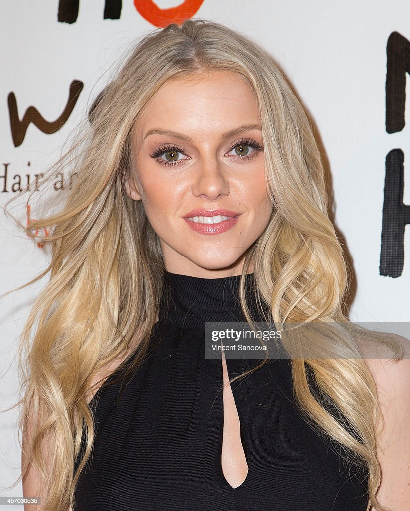 Model Elle Evans attends the NOH8 Campaign's 5th Annual Anniversary Celebration at Avalon on December 15, 2013 in Hollywood, California.