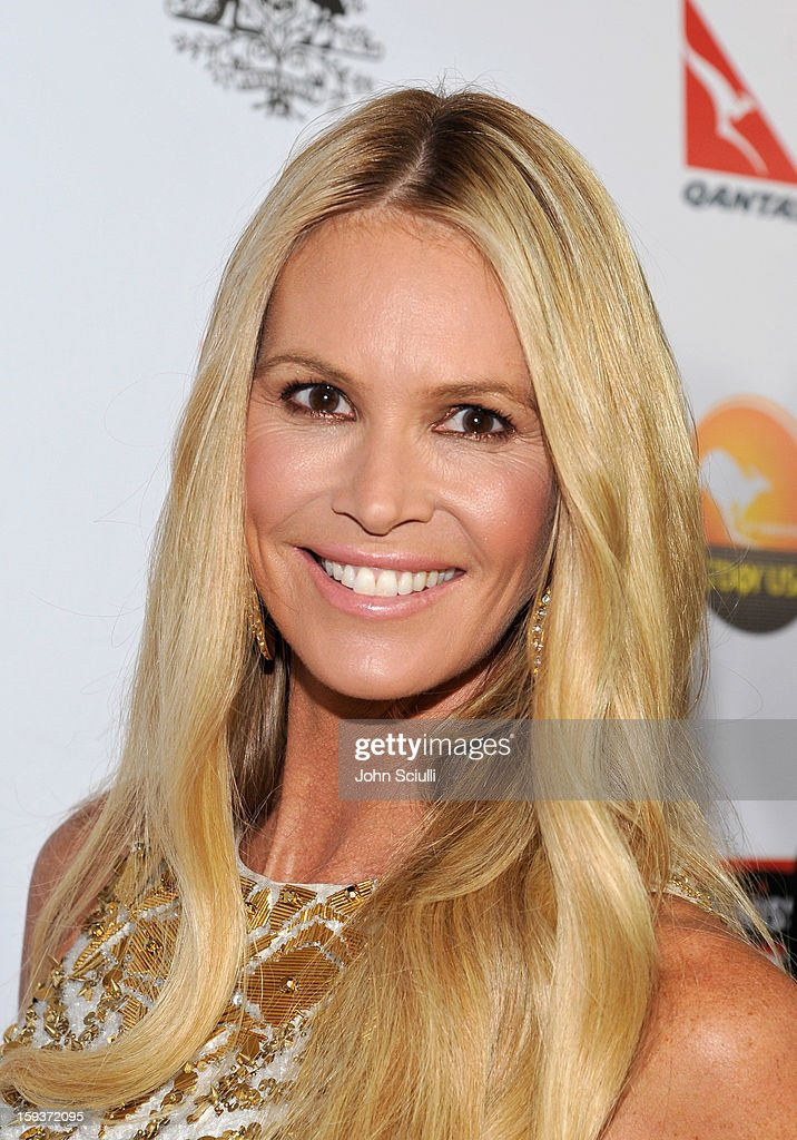 Model <a gi-track='captionPersonalityLinkClicked' href=/galleries/search?phrase=Elle+Macpherson&family=editorial&specificpeople=202490 ng-click='$event.stopPropagation()'>Elle Macpherson</a> arrives at the 2013 G'Day USA Los Angeles Black Tie Gala at JW Marriott Los Angeles at L.A. LIVE on January 12, 2013 in Los Angeles, California.