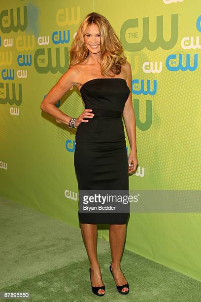 Model Elle Macpherson attends the 2009 The CW Network UpFront at Madison Square Garden on May 21 2009 in New York New York