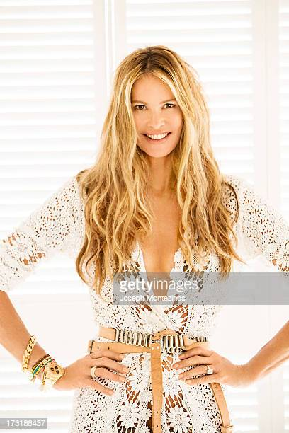 HOLETOWN BARBADOS Model Elle Macpherson poses for You Magazine on April 8 2013 in Holetown Barbados PUBLISHED IMAGE