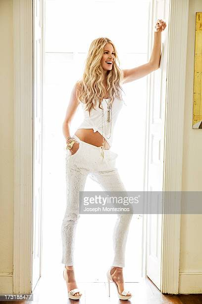 Model Elle Macpherson poses for You Magazine on April 8 2013 in Holetown Barbados PUBLISHED IMAGE