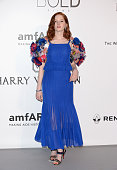 Model Ellie Bamber attends the amfAR's 23rd Cinema Against AIDS Gala at Hotel du CapEdenRoc on May 19 2016 in Cap d'Antibes France