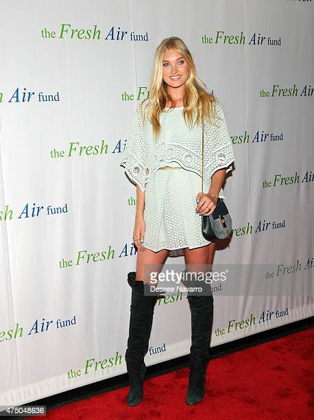 Model Elsa Hosk attends 2015 Fresh Air Fund's Salute to American Heroes at Pier Sixty at Chelsea Piers on May 28 2015 in New York City