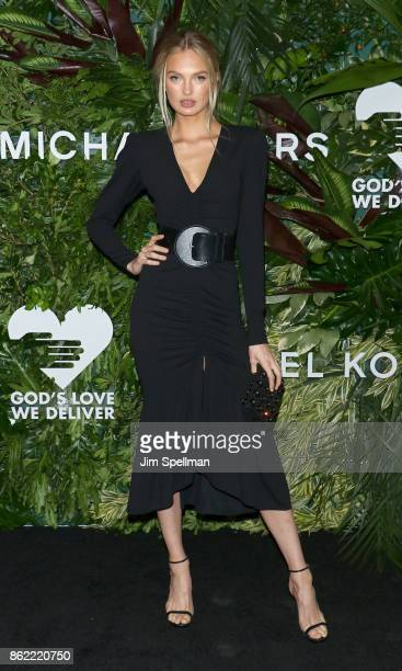 Model Elsa Hosk attends the 11th Annual God's Love We Deliver Golden Heart Awards at Spring Studios on October 16 2017 in New York City