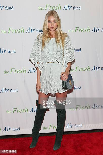 Model Elsa Hosk attends the 2015 Fresh Air Fund's Salute To American Heroes at Pier Sixty at Chelsea Piers on May 28 2015 in New York City