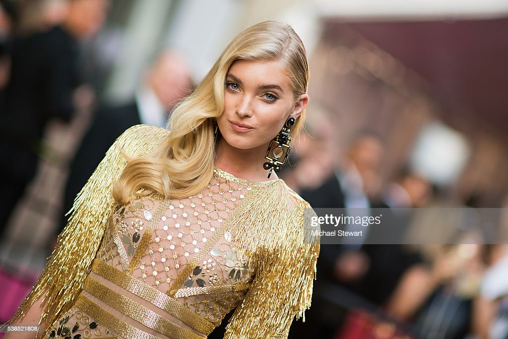 Model Elsa Hosk attends the 2016 CFDA Fashion Awards at the Hammerstein Ballroom on June 6 2016 in New York City