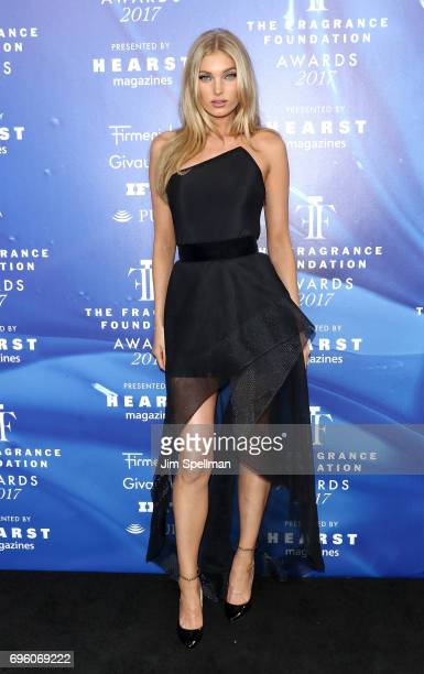Model Elsa Hosk attends the 2017 Fragrance Foundation Awards at Alice Tully Hall Lincoln Center on June 14 2017 in New York City