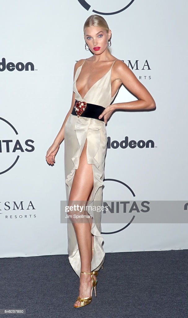 Model Elsa Hosk attends the 2017 Unitas Gala at Capitale on September 12, 2017 in New York City.