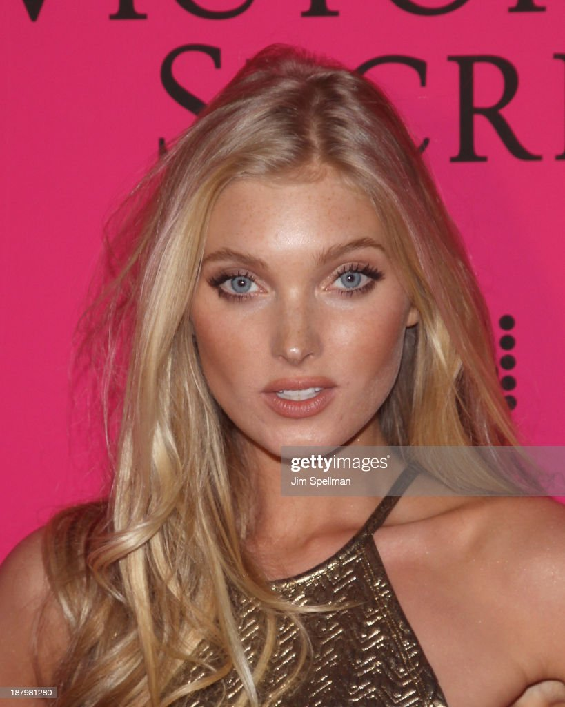 Model <a gi-track='captionPersonalityLinkClicked' href=/galleries/search?phrase=Elsa+Hosk&family=editorial&specificpeople=4436101 ng-click='$event.stopPropagation()'>Elsa Hosk</a> attends the after party for the 2013 Victoria's Secret Fashion Show at TAO Downtown on November 13, 2013 in New York City.