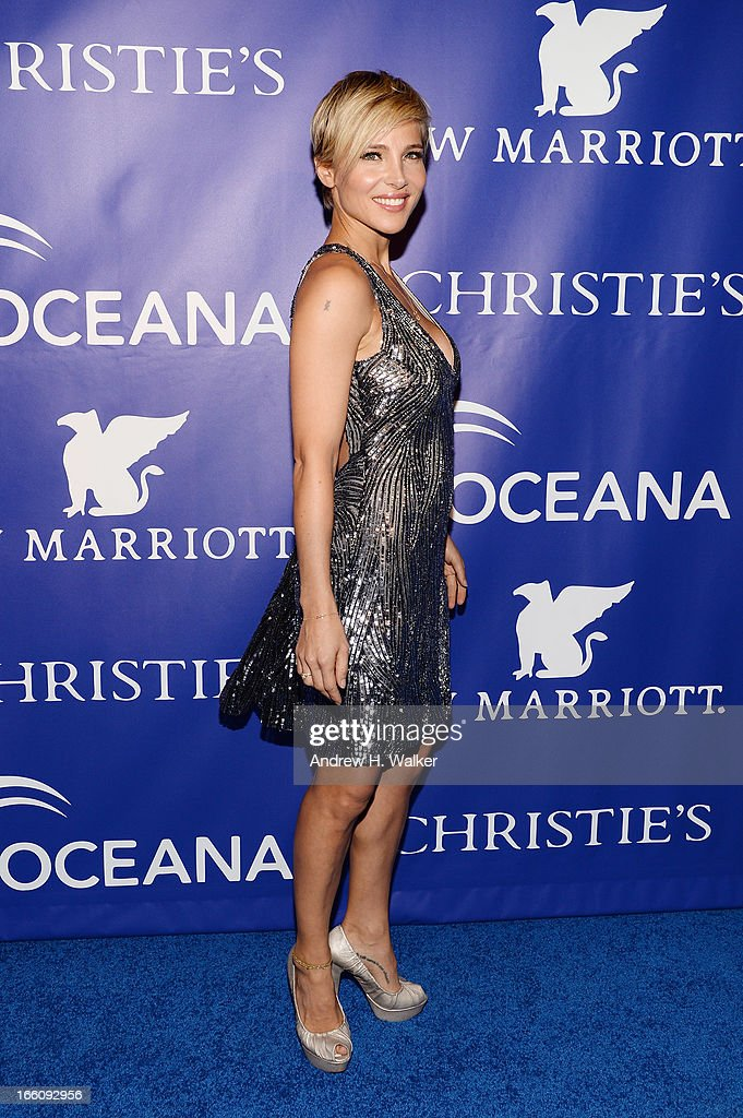 Model Elsa Pataky attends the Inaugural Oceana Ball hosted by Christie's at Christie's on April 8, 2013 in New York City.