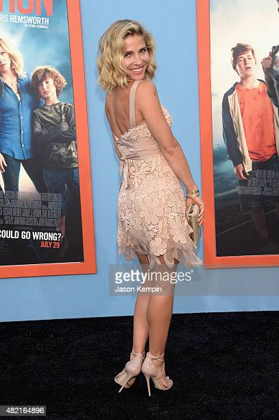Model Elsa Pataky attends the premiere of Warner Bros 'Vacation' at Regency Village Theatre on July 27 2015 in Westwood California