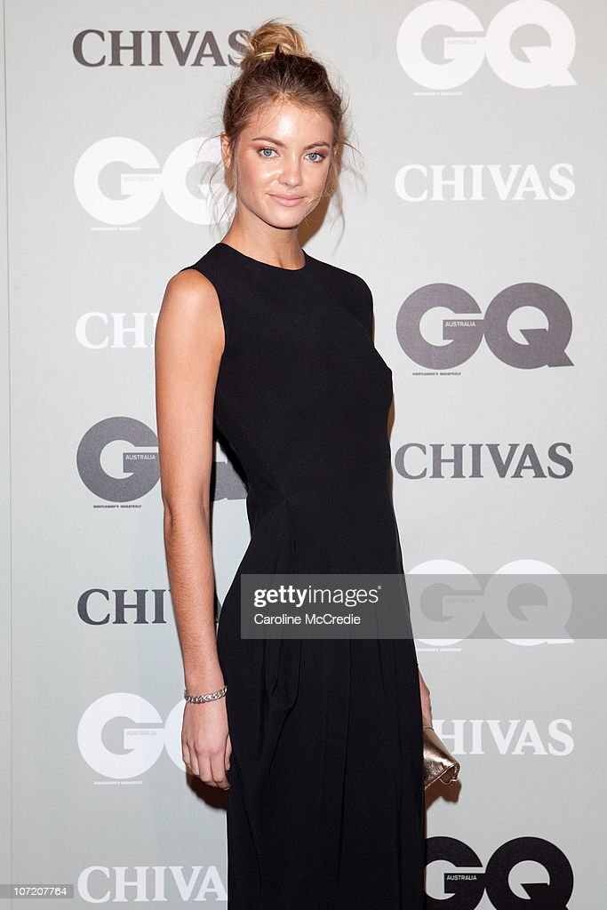 Model Elyse Taylor arrives at the 2010 GQ Men of The Year Awards at the Sydney Opera House on November 30, 2010 in Sydney, Australia.