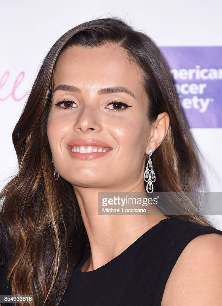 Model Emely Fardo attends the 2017 DreamBall To Benefit Look Good Feel Better at Cipriani 42nd Street on September 27 2017 in New York City