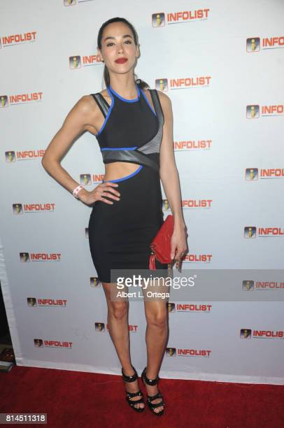 Model Emi Renata attends Jeff Gund's INFOLISTcom's Annual PreComicCon Party held at OHM Nightclub on July 13 2017 in Hollywood California