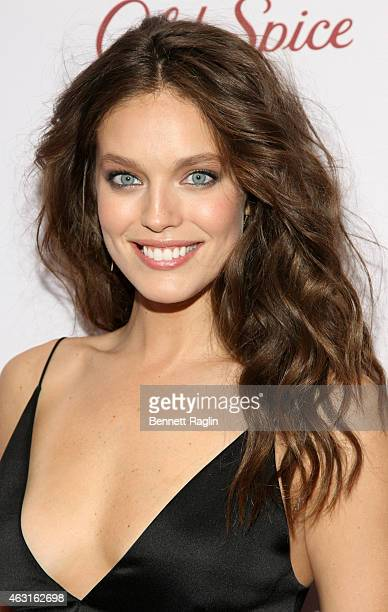 Model Emily DiDonato attends 2015 Sports Illustrated Swimsuit Celebration at Marquee on February 10 2015 in New York City