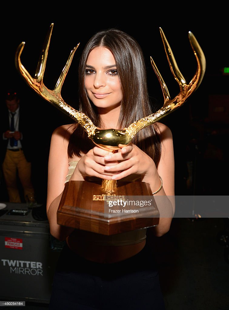 Model Emily Ratajkowski attends Spike TV's 'Guys Choice 2014' at Sony Pictures Studios on June 7, 2014 in Culver City, California.