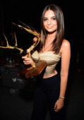 Model Emily Ratajkowski attends Spike TV's 'Guys Choice 2014' at Sony Pictures Studios on June 7 2014 in Culver City California
