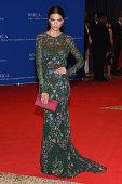 Model Emily Ratajkowski attends the 102nd White House Correspondents' Association Dinner on April 30 2016 in Washington DC