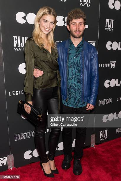 Model Emily Senko and Fashion designer/ Cofounder and creative director of Timo Weiland Tim Weiland attend the 'Colossal' premiere at AMC Lincoln...