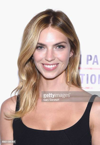 Model Emily Senko attends the 2017 Gordon Parks Foundation Awards gala at Cipriani 42nd Street on June 6 2017 in New York City