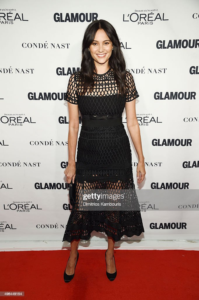 Model Emma Heming attends 2015 Glamour Women Of The Year Awards at Carnegie Hall on November 9, 2015 in New York City.