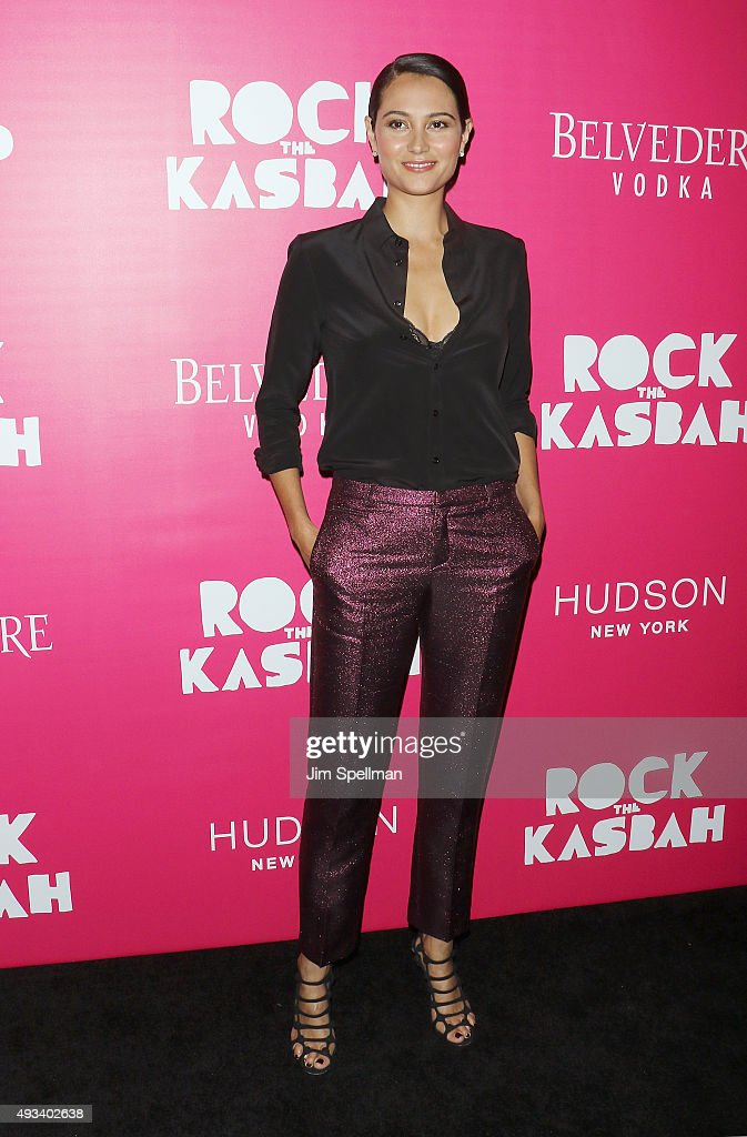 Model Emma Heming Willis attends the 'Rock The Kasbah' New York premiere at AMC Loews Lincoln Square on October 19, 2015 in New York City.