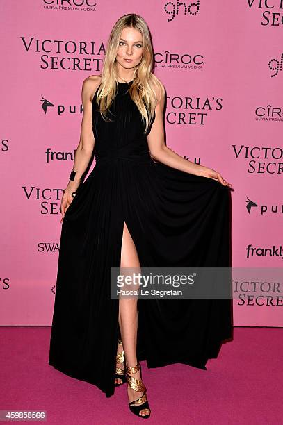 Model Eniko Mihalik attends the after party for the annual Victoria's Secret fashion show at Earls Court on December 2 2014 in London England