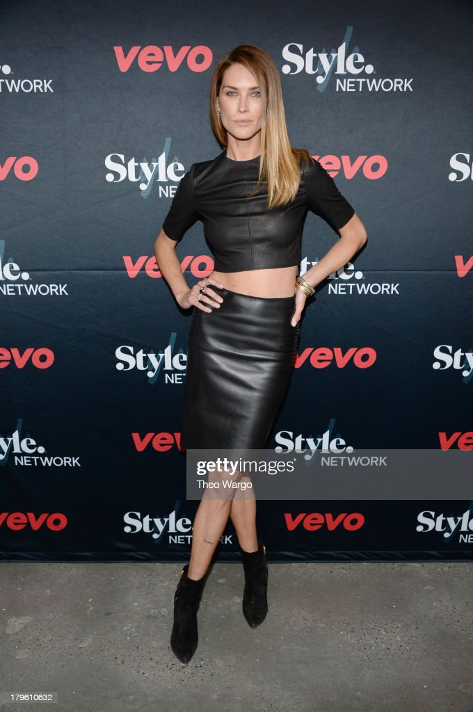 Model Erica Wasson attends the VEVO and Styled To Rock Celebration Hosted by Actress, Model and Styled to Rock Mentor Erin Wasson with Performances by Bridget Kelly & Cazzette on September 5, 2013 in New York City.
