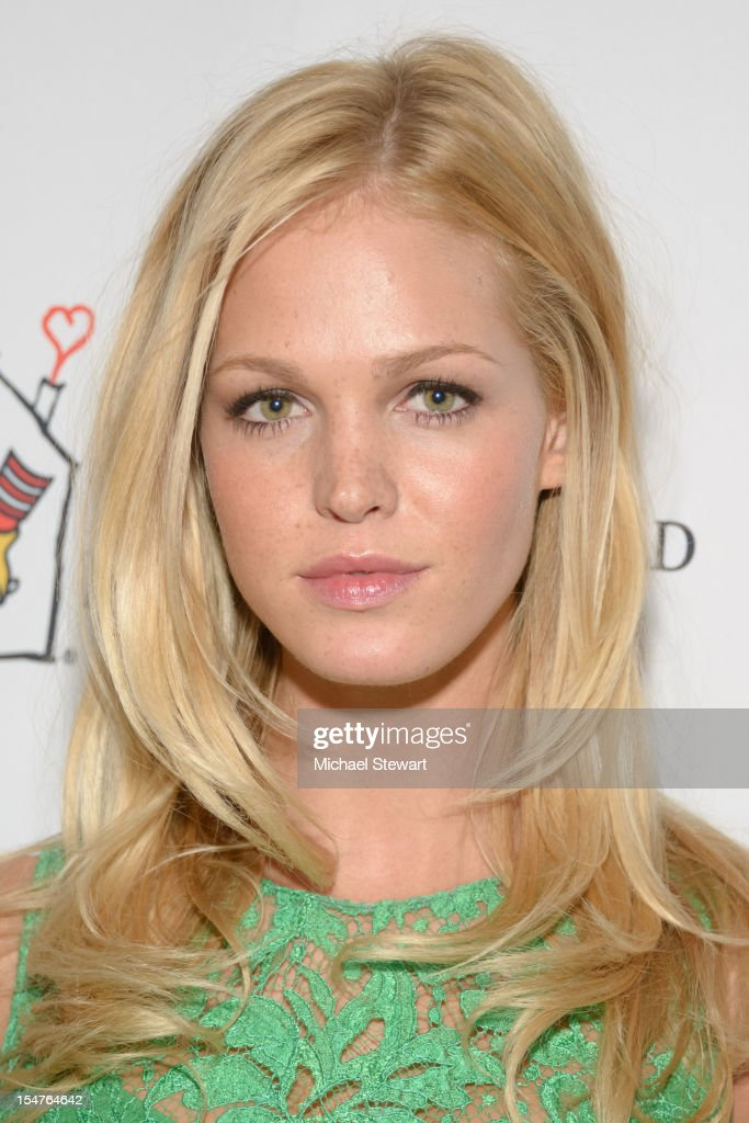 Model Erin Heatherton attends the 2012 Masquerade Ball Benefiting Ronald McDonald House at Apella on October 25, 2012 in New York City.
