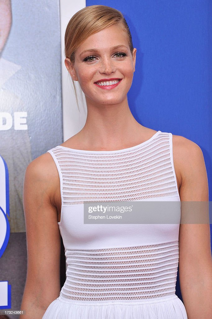 Model Erin Heatherton attends the 'Grown Ups 2' New York Premiere at AMC Lincoln Square Theater on July 10, 2013 in New York City.